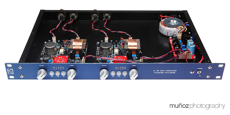 Fivefish audio rack case kit psu kits installed solutioingenieria Gallery